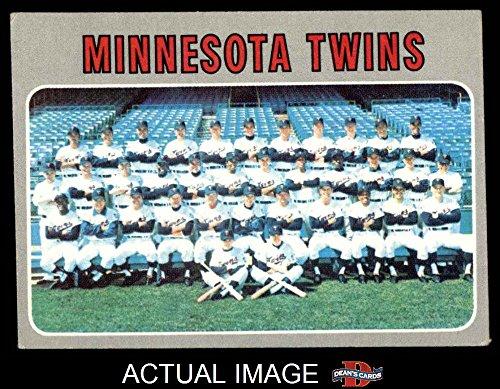 1970 Topps # 534 Twins Team Minnesota Twins (Baseball Card) Dean's Cards 4 - VG/EX Twins