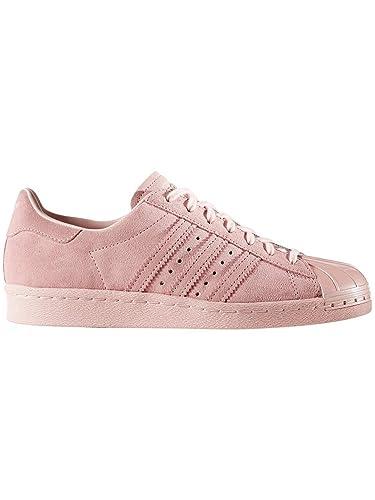adidas Damen Superstar 80S Metal Toe W Fitnessschuhe, Rosa Roshel, 36 EU 8b0427ad2a