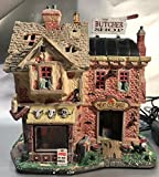Lemax Spooky Town The Butcher Shop with Adaptor # 85663
