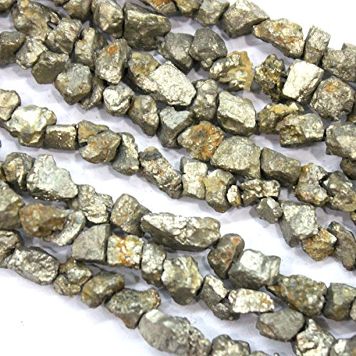 Natural Rough Pyrite Nuggets Gemstone Beads Jewerly Making Findings -