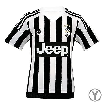 Amazon.com   Adidas Juventus Home Youth Jersey-WHITE   Sports   Outdoors 8fa0e6cbcb1