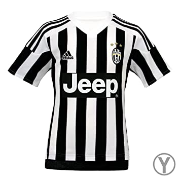 low priced f64f6 95fe2 Adidas Juventus Home Youth Jersey-WHITE