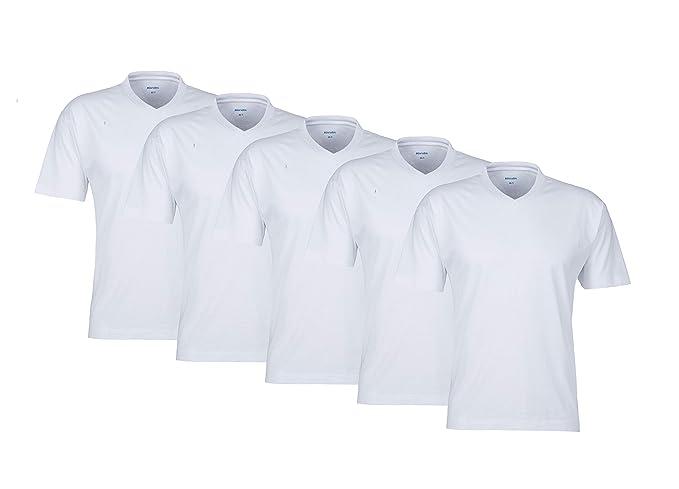 save off 23372 a394c MioRalini Collo AV! 5 o 10 Meravigliosa Colorato Uomo Maglietta t-Shirt in  100% Cotone Merce Marca Shirts t-Shirt per Il Uomo, Man, Uomo Scollo AV