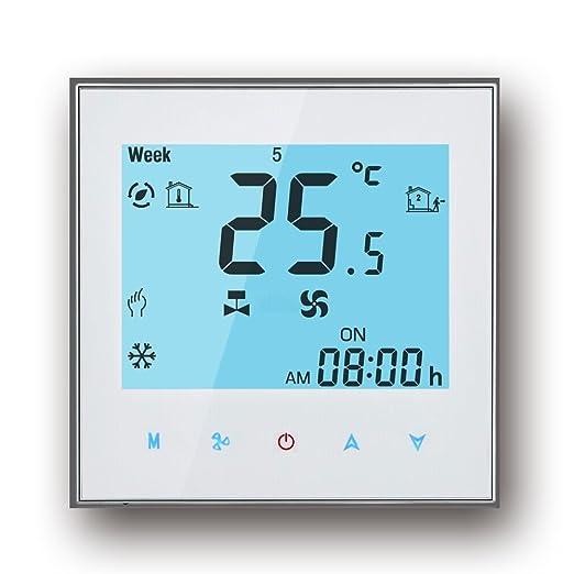 2 opinioni per WIFI Termostato, Arxus WIFI Controllo Touch Screen LCD 2/4 tubi termostato per