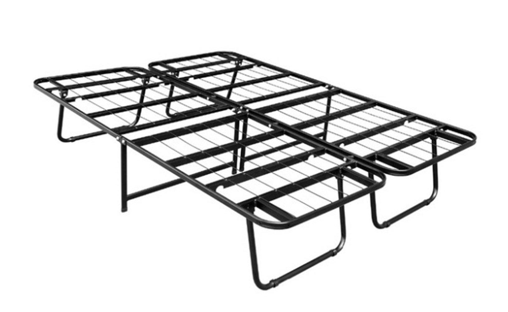 Alaska2You 15.35 Inch SmartBase Mattress Foundation / Platform Bed Frame / Box Spring Replacement / Quiet Noise-Free / Maximum Under-bed Storage, Queen