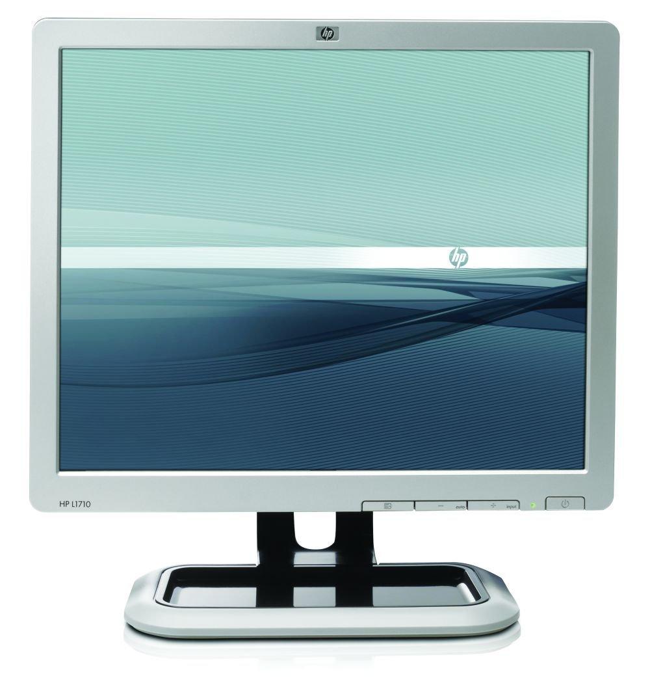 HP L1710 HP 17 L1710 LCD Monitor, Active Matrix, TFT, Black/Silver (Certified Refurbished)
