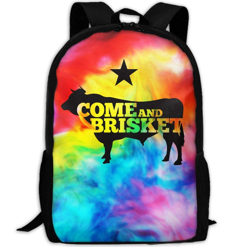 OIlXKV Come And Brisket Print Custom Casual School Bag Backpack Multipurpose Travel Daypack For Adult