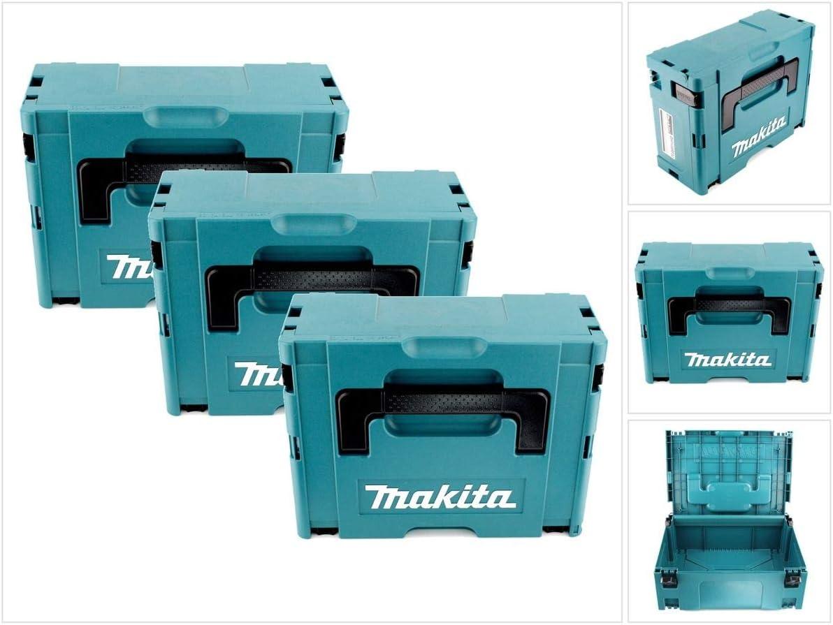 Makita Makpac grandes 2 caja de transporte Juego de 3, 1 pieza ...