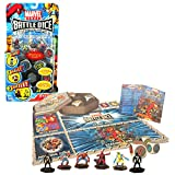 Playmates Year 2006 Marvel Heroes Battle Dice Collectible Figure Game Starter Set with Magneto, Wolverine, Captain America, Spider-Man and 2 Mysterious Figure Plus 6 Battle Dice, 2 Mats and Mini Comic