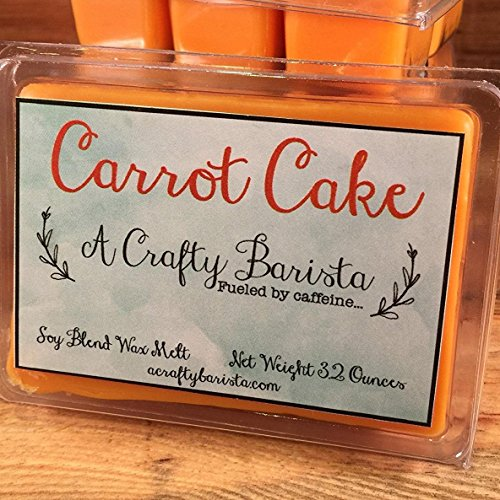 Carrot Cake Scented Wax Melts, 3.2 Ounces