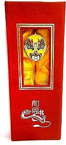 Chinese opera theme metal bookmark