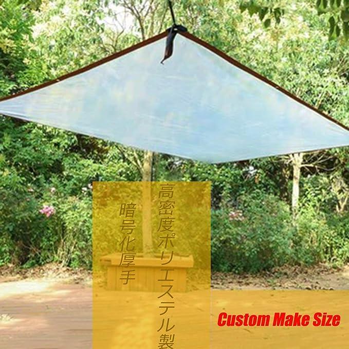 HLMBQ 90% Malla de sombreo (Blanca 4 x 5 m) Malla Ocultación con Engrosamiento de cifrado Resistente y Transpirable Estanque terraza Red de Jardín: Amazon.es: Hogar