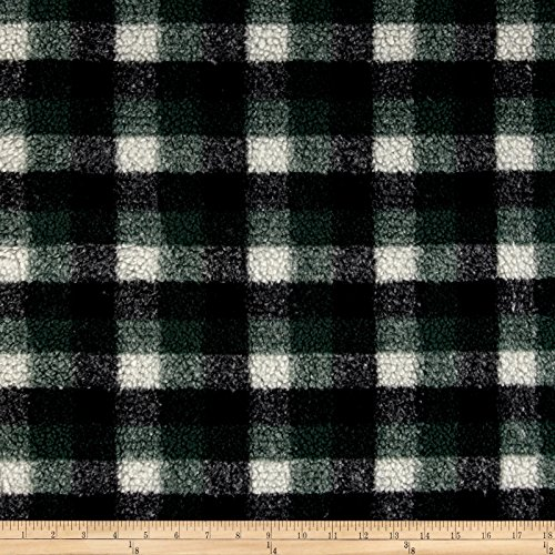Shannon Fabrics Berber Check Fleece Fabric by The Yard Hunter