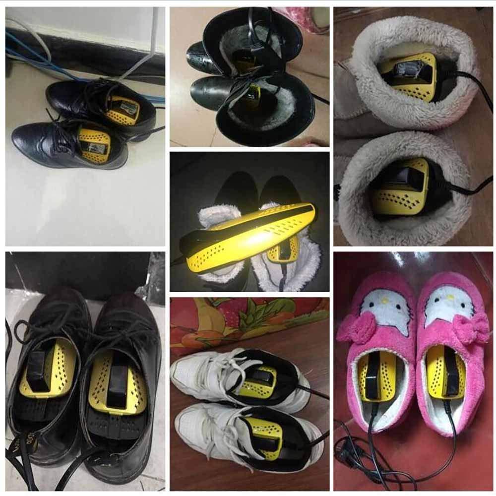 Gelb ,#1 MZL Haushaltselektrischer Schuhtrockner desodorierendes antibakterielles intelligentes Trocknerheizungsisolierung trockene Schuhe Stiefelhandschuhsocken