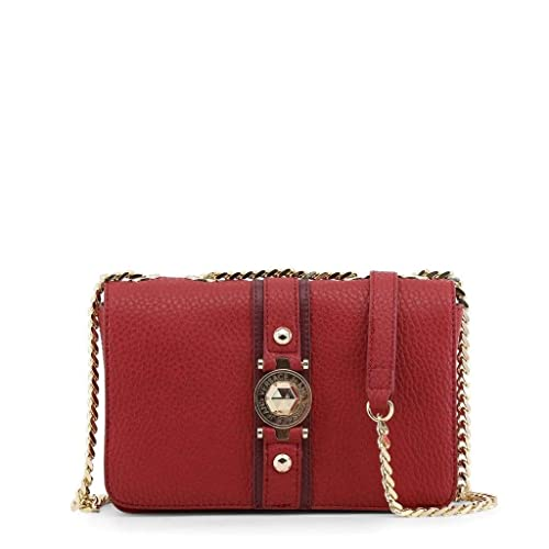e0d976571301 Image Unavailable. Image not available for. Color  Versace EE1VSBBF8 E331  Red Shoulder Bag ...