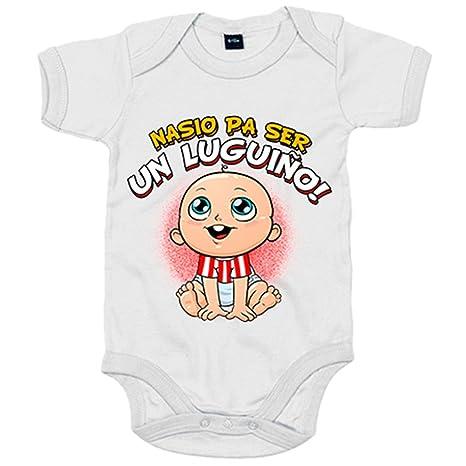 Body bebé nacido para ser Luguiño Lugo fútbol - Blanco, 6-12 ...