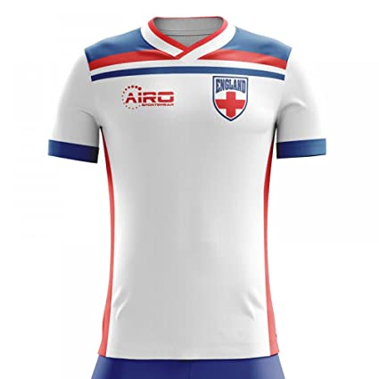 03e1eb3f6f7 Image Unavailable. Image not available for. Color  Airo Sportswear 2018-2019  England Home Concept Football Shirt (Kids)