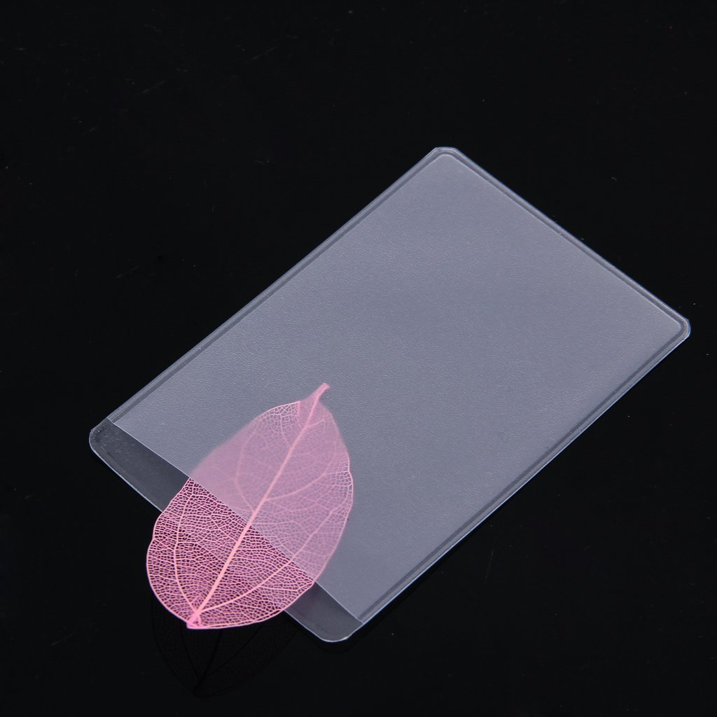 Amazon.com : TOOGOO(R) 10Pcs Soft Clear Plastic Card Sleeves ...