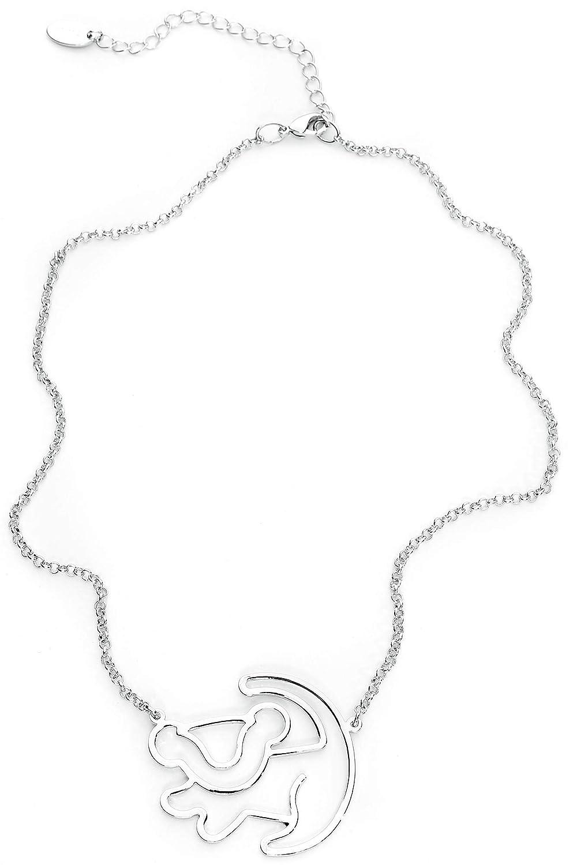 Unbekannt Der K/önig der L/öwen Disney by Couture Kingdom Simba Silhouette Halskette