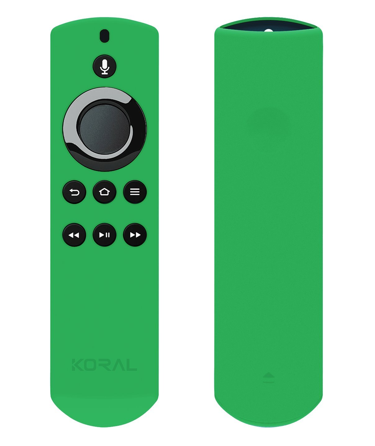 Koral Case for Alexa Voice Remote for Fire TV and Fire TV Stick - Glow Green