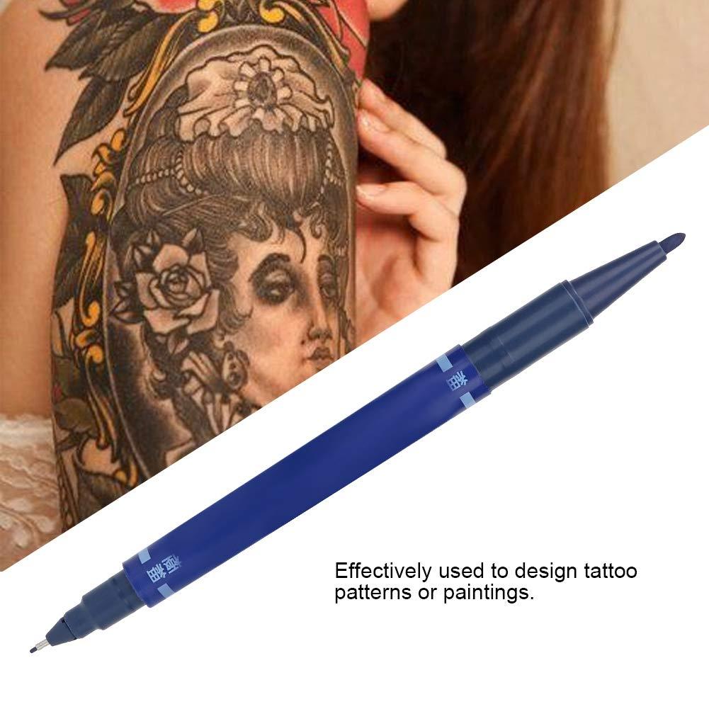 Pluma de marcado de tatuaje temporal de 10 piezas: marcador de ...