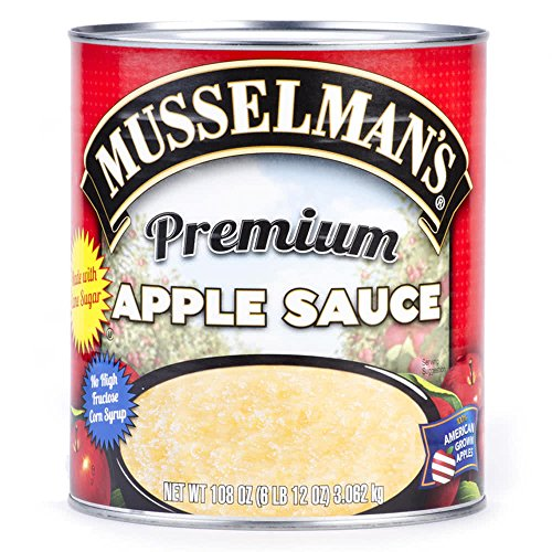 TableTop King #10 Can Premium Blend Apple Sauce - 6/Case by TableTop King