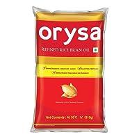 Orysa Rice Bran Oil Pouch, 1L