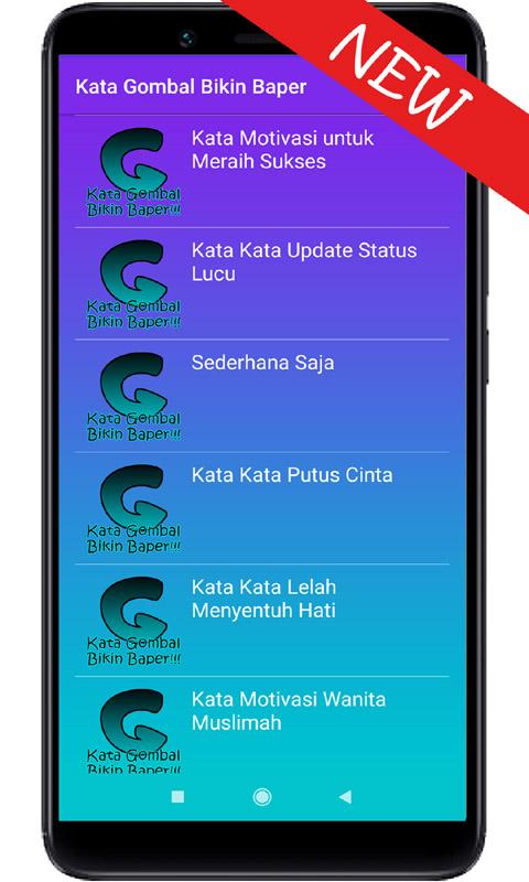 Amazoncom Kata Gombal Bikin Baper Appstore For Android