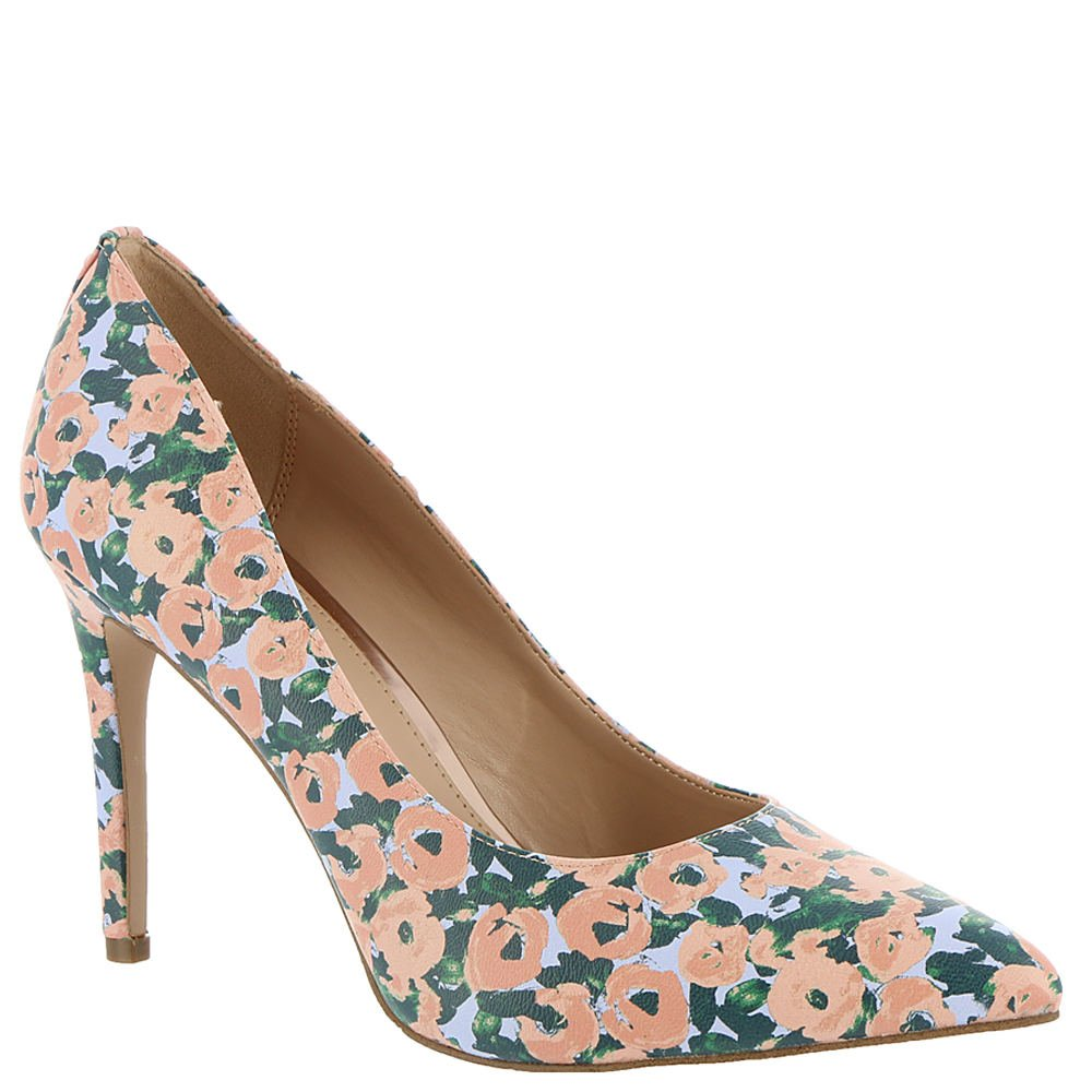 BCBG Generation Women's Heidi Smooth Patent Pump B07BR8F1XC 11 B(M) US|Pink-multi-floral