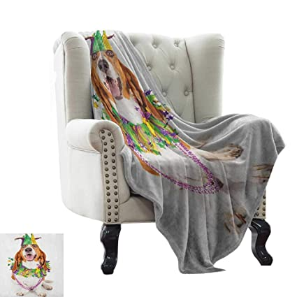 Amazon.com: warmfamily Mardi Gras,Weave Pattern Extra Long ...