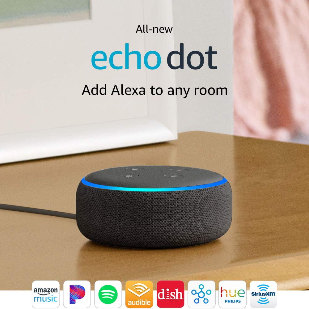 All-new Echo Dot (3rd Gen) - Smart speaker with Alexa...