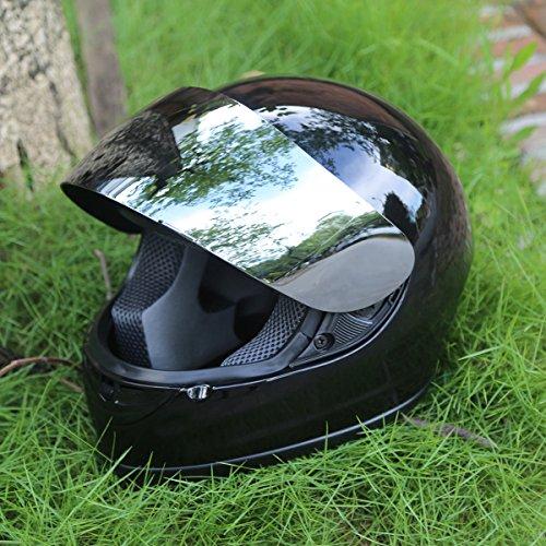 Mirror Motorcycle Helmet - 7