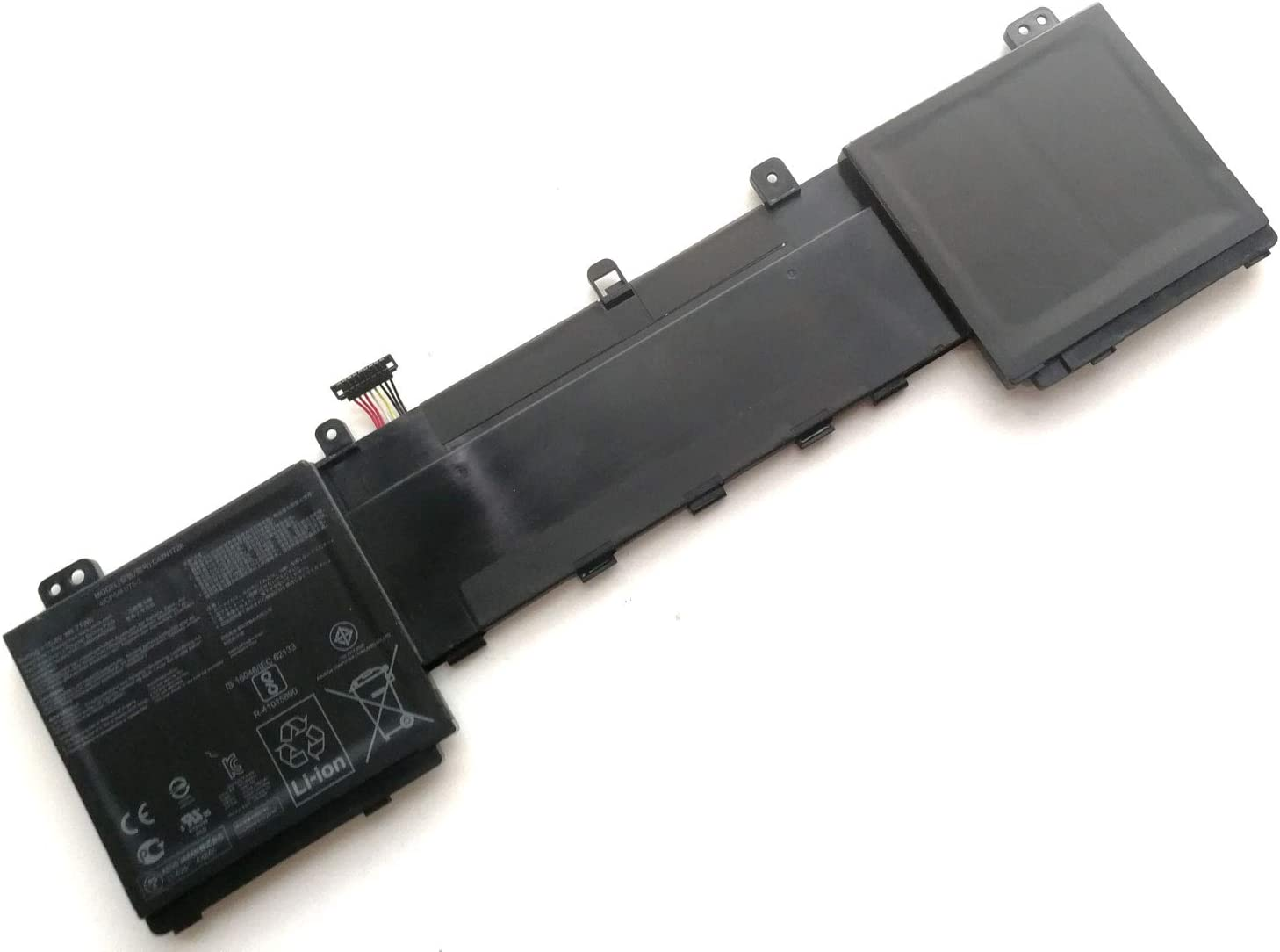 C42N1728 15.4V 71Wh Laptop Battery Replacement for ASUS Zenbook Pro U5500 UX550GDX UX550GE UX550GEX UX550GD Series C42PHCH 0B200-02520100E