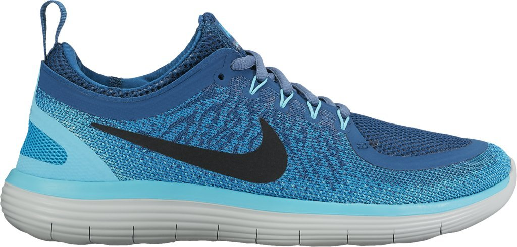 Nike Women's Free Rn Distance 2 Running Shoe B01MR86O1R 6 B(M) US|Blue Lagoon/Black-industrial Blue