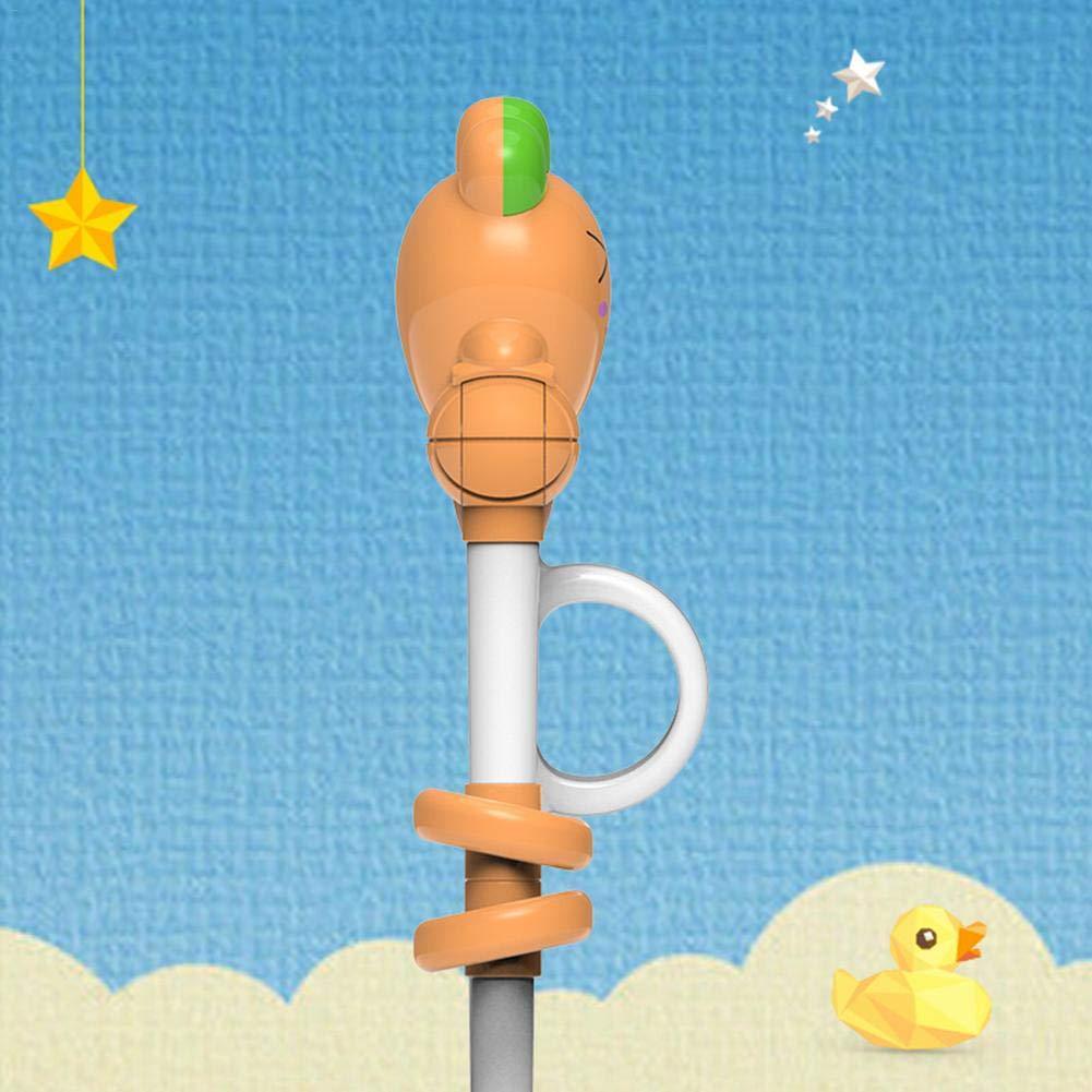 Chopsticks Entrenamiento con ejercicios para ni/ños Palillos reutilizables Juguetes para ni/ños Resina de pl/ástico Herramientas para ni/ños y ni/ñas Desarrollo inteligente Educaci/ón temprana Palillos