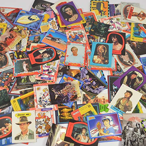 Over 200 Retro Nostalgic Trading Cards and Stickers Featuring Throwback Movies, Shows, Cartoons, or Old School Games 80's 90's