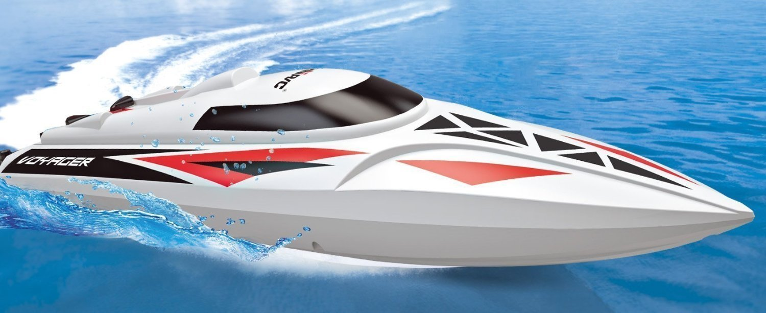 for Pool /& Outdoor Use Bonus Battery Force1 UDI007 Remote Control Boat RC Racing Boat with Remote Control High-Speed Series RC Boats for Adults /& Kids