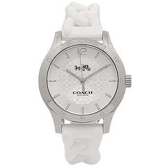 5bf20f8394ca [コーチ] 腕時計 レディース アウトレット COACH W6042 WHT ホワイト シルバー [並行輸入品]