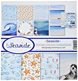 Reminisce SES-200 Seaside Collection Kit, 12'' by 12'', Multicolor