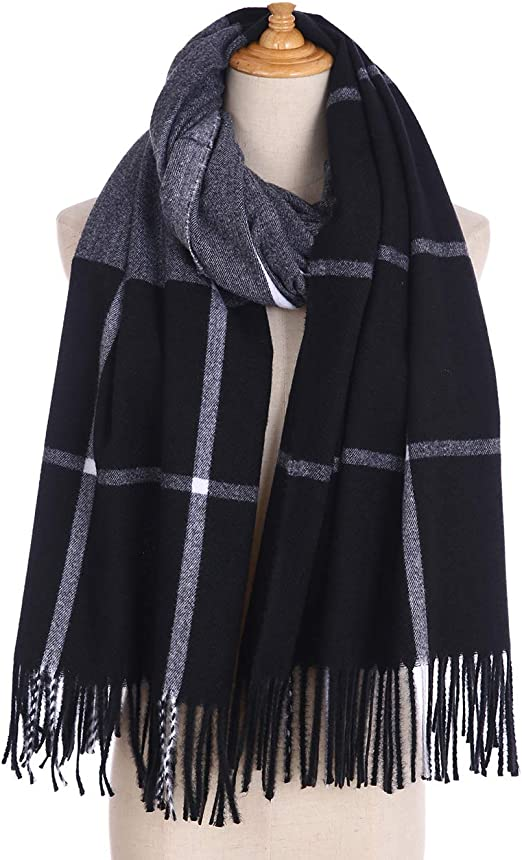 Soft Wedding Scarf Pashmina Scarfs for Women Large Cashmerefeel Reversible Shawl Wraps