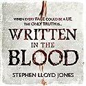 Written in the Blood Audiobook by Stephen Lloyd Jones Narrated by Gemma Whelan