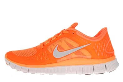 1e84406c9f9 Nike Free Run +3 Mens Running Shoes (Ttl Orng Rflct Slvr-Pr