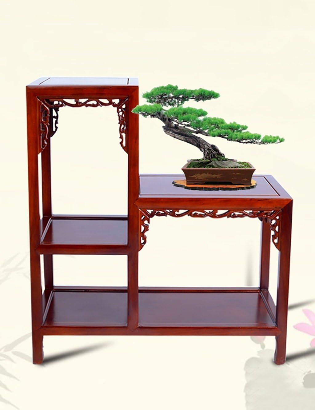 Stand de planta Flower Racks, mesa de café alta y baja Bonsai de ...