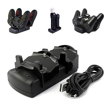 Kailisen Playstation 3 - Cargador de Mando para PS3 y PS3 ...