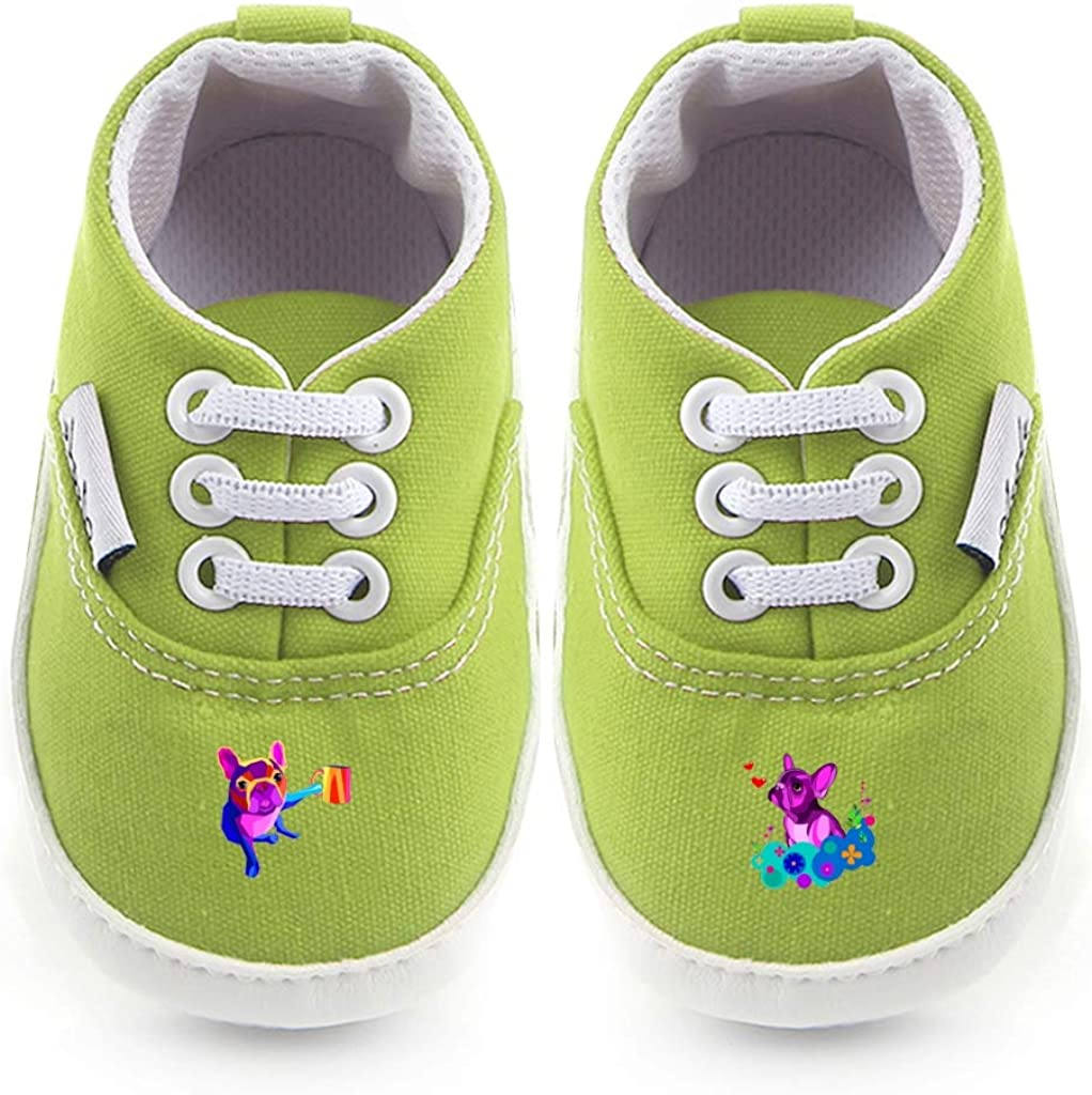 Non-Slip Baby Boys Girls Canvas Toddler Sneaker Anti-slip First Walkers Shoes 0-18 Months Good