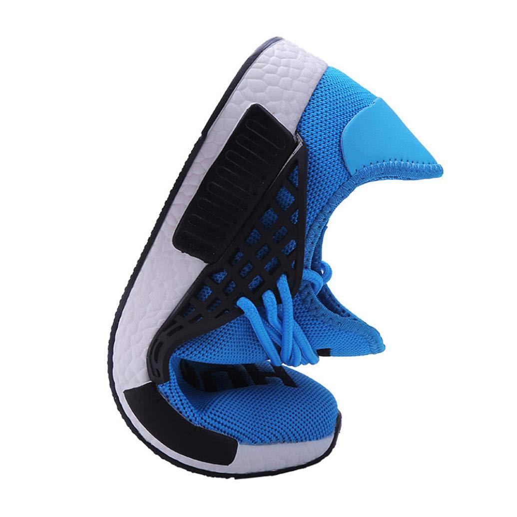 dd642d6e WWricotta LuckyGirls Zapatillas de Correr Hombre Mujer Par Estampado  Patchwork Casual Cómodas Calzado para Deporte Zapatos para Andar con  Cordones Bambas de ...