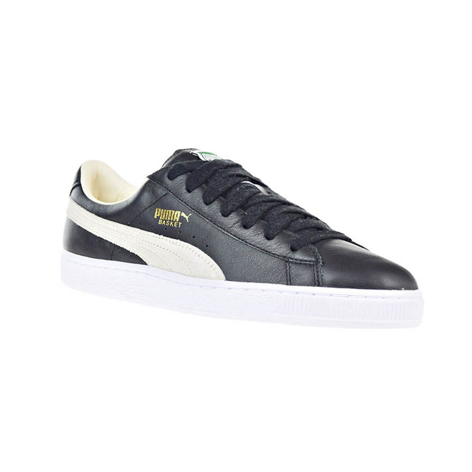 Puma Basket Classic Men s Shoes Black White 351912-02 (11.5 D(M) US)   Amazon.co.uk  Shoes   Bags 97549688d