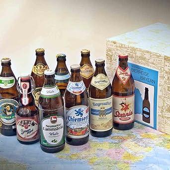 Premium Geschenkbox Bayrisches Bier Verpackt Im Präsentkarton 9 Bierspezialitäten Aus Bayern Besonderes Geschenk Für Männer Bierliebhaber