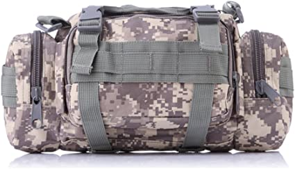 Tactical Shoulder Strap Duffle Bag Molle Military Pack Chest Backpack Sundries