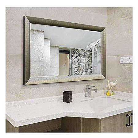 Specchio Con Cornice Per Bagno.Zh Posture Yxsd Specchio Da Bagno Con Cornice Per Lavabo
